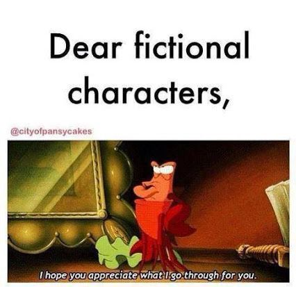 17 Things You'll Relate to If Fictional Characters Are Your Best Friends